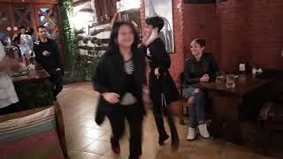 Вано танцует. Ресторан #Приосмани Тбилиси, живая музыка и танец