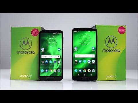 Unboxing: Motorola Moto G6 & G6 Plus (Deutsch) - Die neuen Preisleistungskracher? | SwagTab