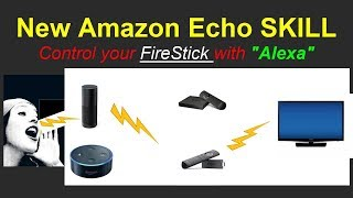 How to control the Amazon FireTV Stick with your voice over Amazon Alexa (amazon echo)