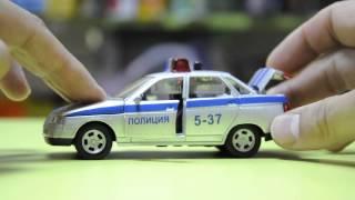 Игрушка легковая машина Lada 110 полиция 5-37