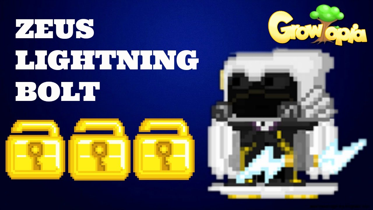 Growtopia Making Zeus Lightning Bolt Doovi