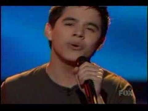 David Archuleta - With You - American Idol Top 3 Finals