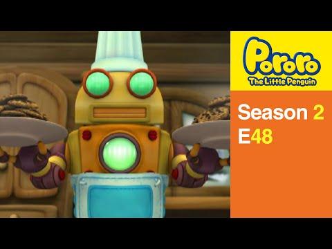 [Pororo S2] #48 Robot cook