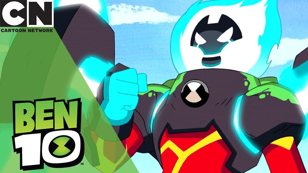 Ben  Ultimate Heatblasts Epic Upgrades Cartoon Network