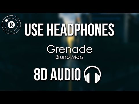 Bruno Mars - Grenade (8D AUDIO)