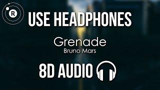 Bruno Mars - Grenade (8D AUDIO)
