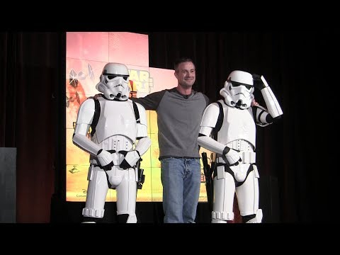 Freddy Prinze Jr appears at Star Wars Rebels presentation at Toy ...