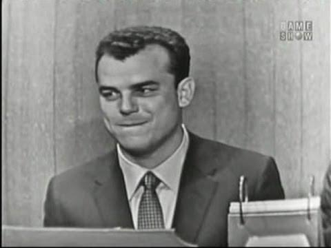 What's My Line? - Julius LaRosa; Stubby Kaye [panel] (Jul 21, 1957)