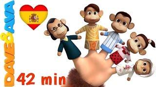 👋 Сanciones Infantiles   Canciones Infantiles en Español de Dave y Ava  La Familia Dedo - Colección👋 thumbnail