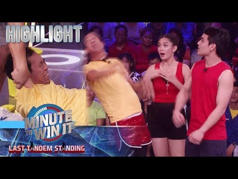 Minute To Win It: Jimuel Pacquiao, binigyan ng isang suntok si Long Mejia
