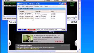 Using WM Recorder 14 in List Mode:  How to Record/Download/Capture/Save/Rip Streaming Video