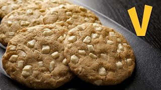 White Chocolate Chip Cookies | Vegan Recipe