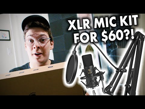 Great Sounding Budget XLR Microphone | Tonor TC20 Microphone Kit Review