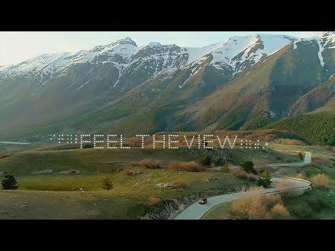 """""""Feel the View""""-Autofenster von Ford für blinde Beifahrer: Vibrationen vermitteln Landschafts-Ausblicke"""