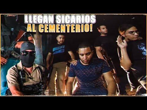 SICARIOS LLEGAN AL CEMENTERIO | GUSGRI (BROMA)
