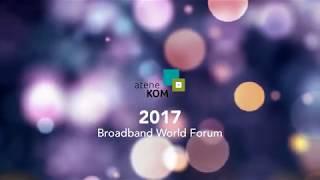 ANEDiS auf dem Broadband World Forum 2017