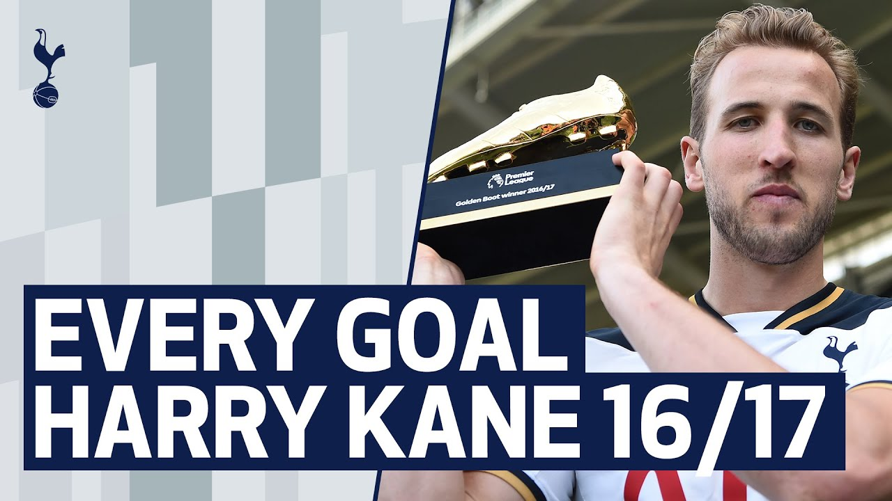 ALL OF HARRY KANE'S 2016/17 PREMIER LEAGUE GOALS | Second successive Golden Boot!