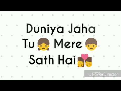 Whatsapp Status Video | Kahin To Hogi Woh | Romantic Lyrics Video