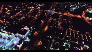 DJI Phantom 3 Professional Test at Night in 4k