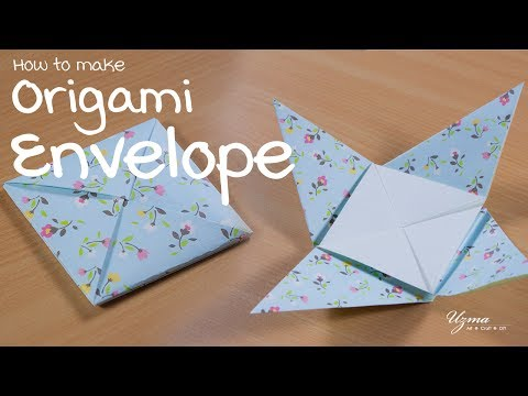 How to make Origami Envelope using just Paper