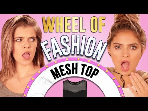 MESH TOP CHALLENGE?! Wheel of Fashion w/ Griffin Arnlund & Carrington Durham