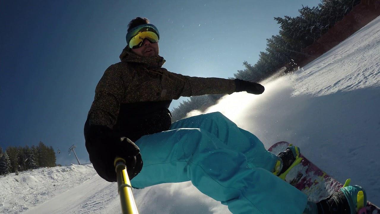 Bansko 2019 Alberto Tomba Snowboard Downhill Youtube