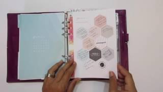 2016 Planner Flip Through | Target Dollar Spot Planner