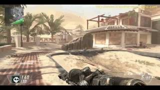 Call of Duty Black Ops 2 GUN GAME MIRAGE Multiplayer BO2 gameplay Inspired by theRadBrad