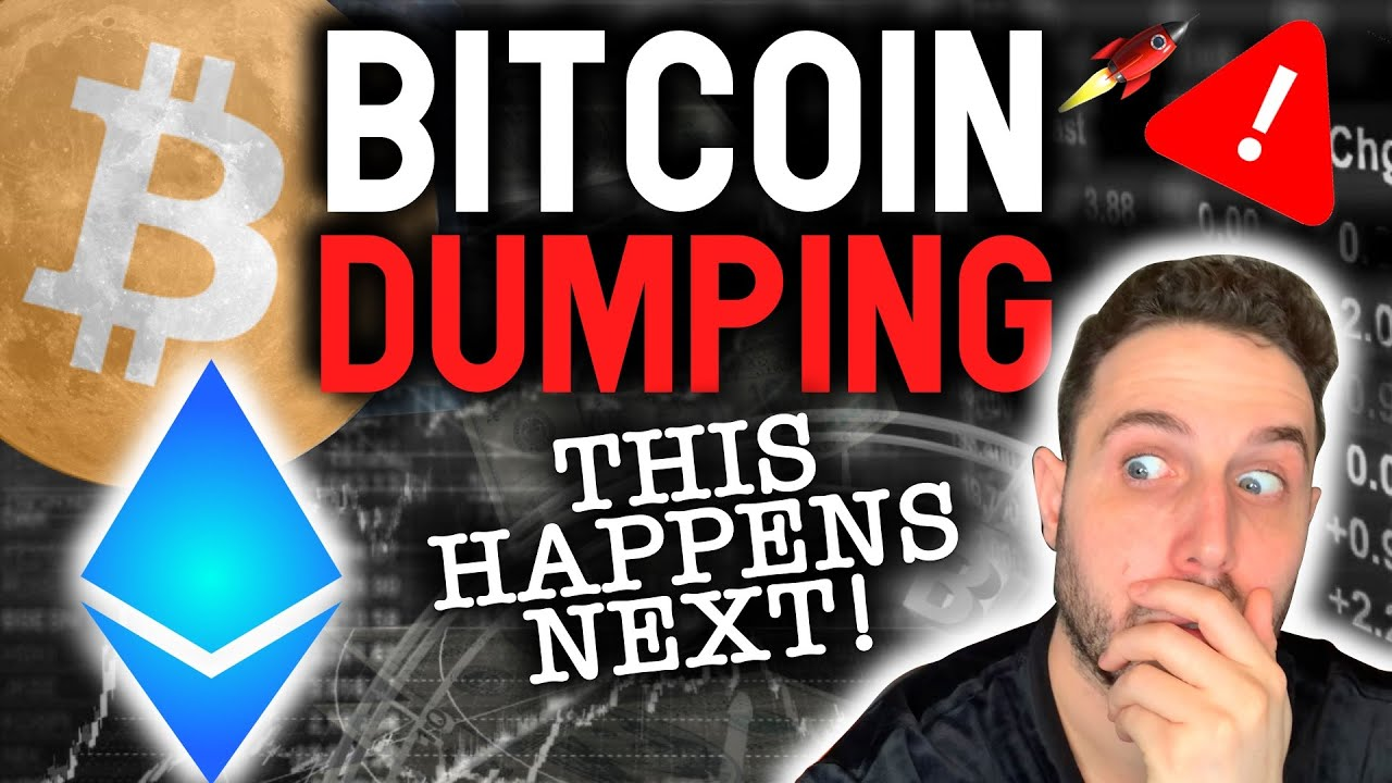 WARNING: BITCOIN DUMPING NOW! Here is what happens NEXT!