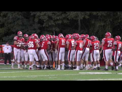 Boys Varsity Football Baldwinsville VS Cicero North Syracuse High 10/07/2016
