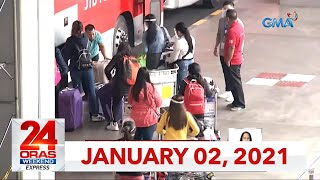 24 Oras Weekend Express: January 2, 2021 [HD]