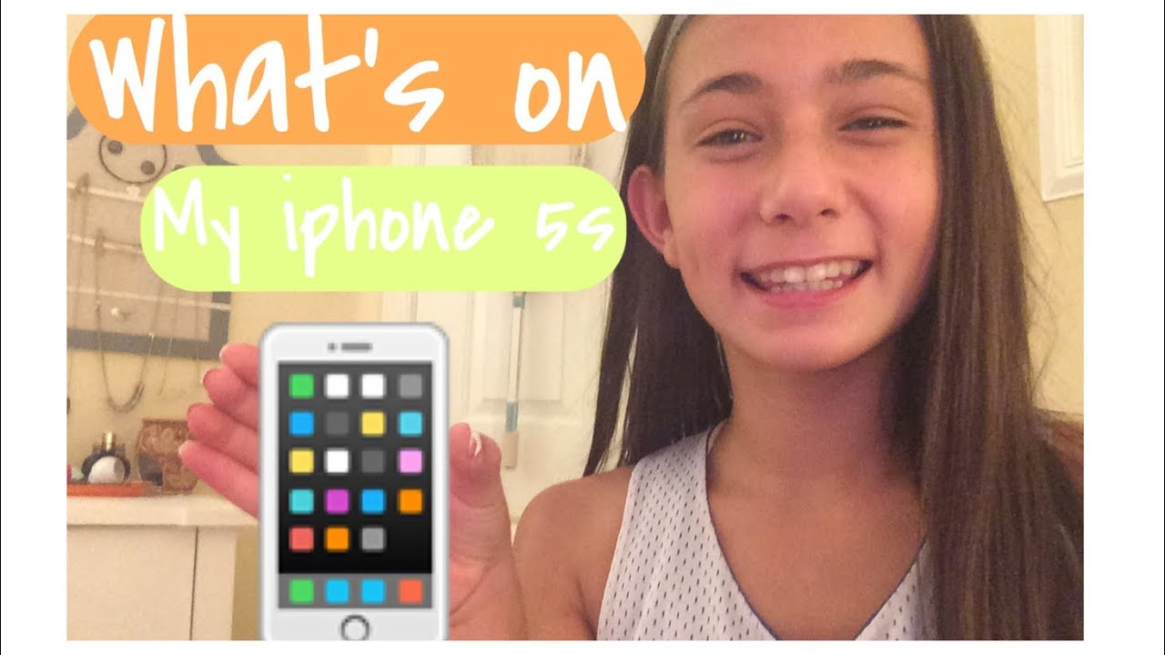 WHATS ON MY IPHONE 5s and how to edit my thumbnails!! - YouTube