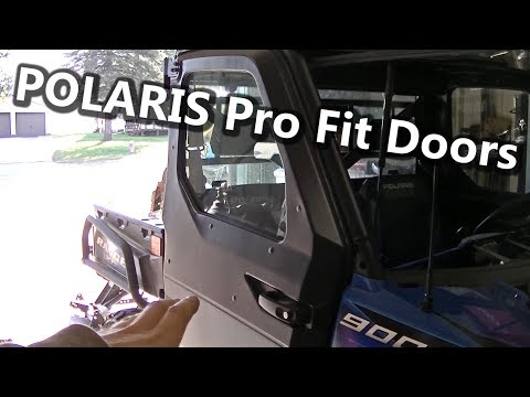 Polaris Ranger 900 Factory Pro Fit Power Window Door Kit Install