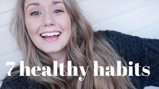Comin' at you with that #newyear content. 😉this is my first vlog-style video, and in it i'm sharing the seven #healthyhabits focusing on this year wh...