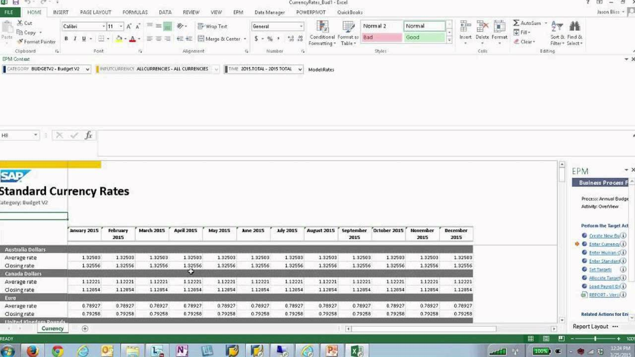 The future of business planning with bpc 10 1 and sap hana for 2012 bpc financial template
