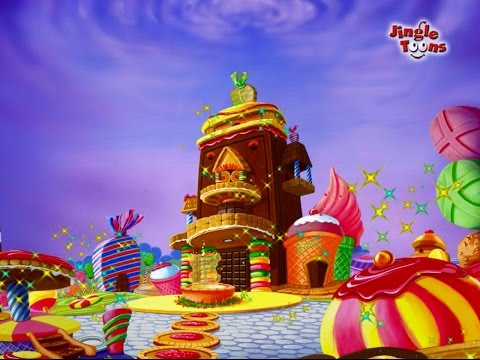 Chocolate Cha Bangla - Famous Marathi Song in Animation by Jingle Toons( चॉकलेटचा बंगला )