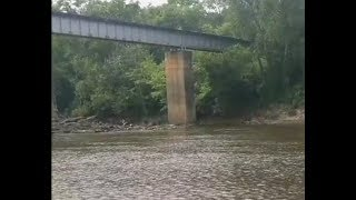 Cape Fear River Flood Compilation - Person St. Bridge - Fayetteville NC (Florence 2018)