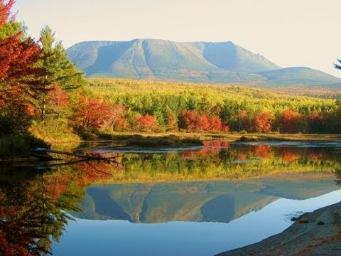 MOUNT KATAHDIN on the Appalachian Trail