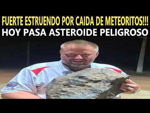 Gran Estruendo En Brasil Por Caída De Meteorito / Asteroide Pasa Hoy Cerca De La Tierra