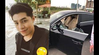 Tin Mới Nhất 24H - Quản lý đăng ảnh ô tô bị tai nạn, fan lo lắng vì sợ Noo Phước Thịnh gặp sự cố,!!