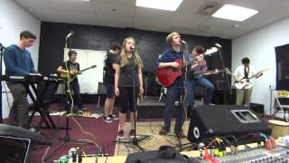 Radiohead -A Wolf At The Door (Cover) School of Rock Boston (2014)