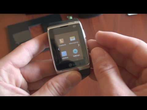 LG 3G Watch Phone Unboxing | Pocketnow