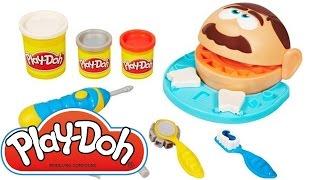 Пластилин для детей Плей До Play doh Доктор Зубастик