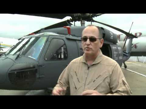 For the first time, the S-70i BLACK HAWK helicopter is being displayed to the world market.