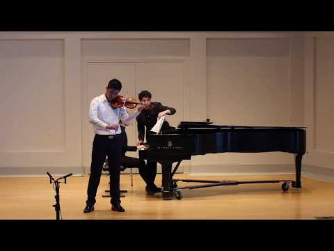 Saint-Saens: Introduction and Rondo Capriccioso (Andy Peng)