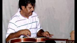 Instrumental Track of chookar mere man ko on slide guitar by versatile artist Pt.Santosh joshi