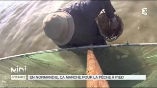 LA DE?COUVERTE DE NATHALIE : En Normandie, c?a marche pour la pe?che a? pied