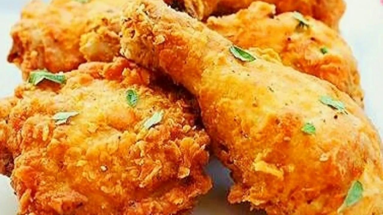 Tasty Chicken Fry // KFC Chicken //Mom\'s kitchen - YouTube