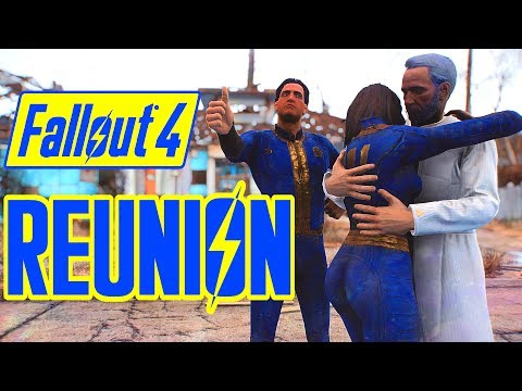 Fallout 4 - NATE & NORA MEET FATHER TOGETHER! - Amazing Nora