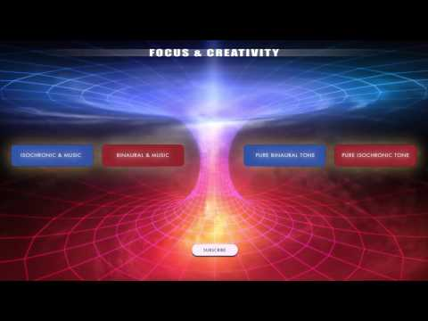 Focus & Creativity - Creative Thinking, Visualisation & Problem Solving - Binaural Beats & Iso Tones Mp3